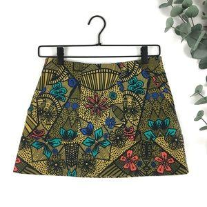 Zara | Stretch Twill Mini Skirt size Medium